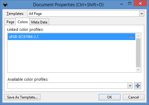 File:New Document Properties dialog Colors tab.png
